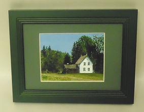 Leona Nyberg painting of Huble Homestead.