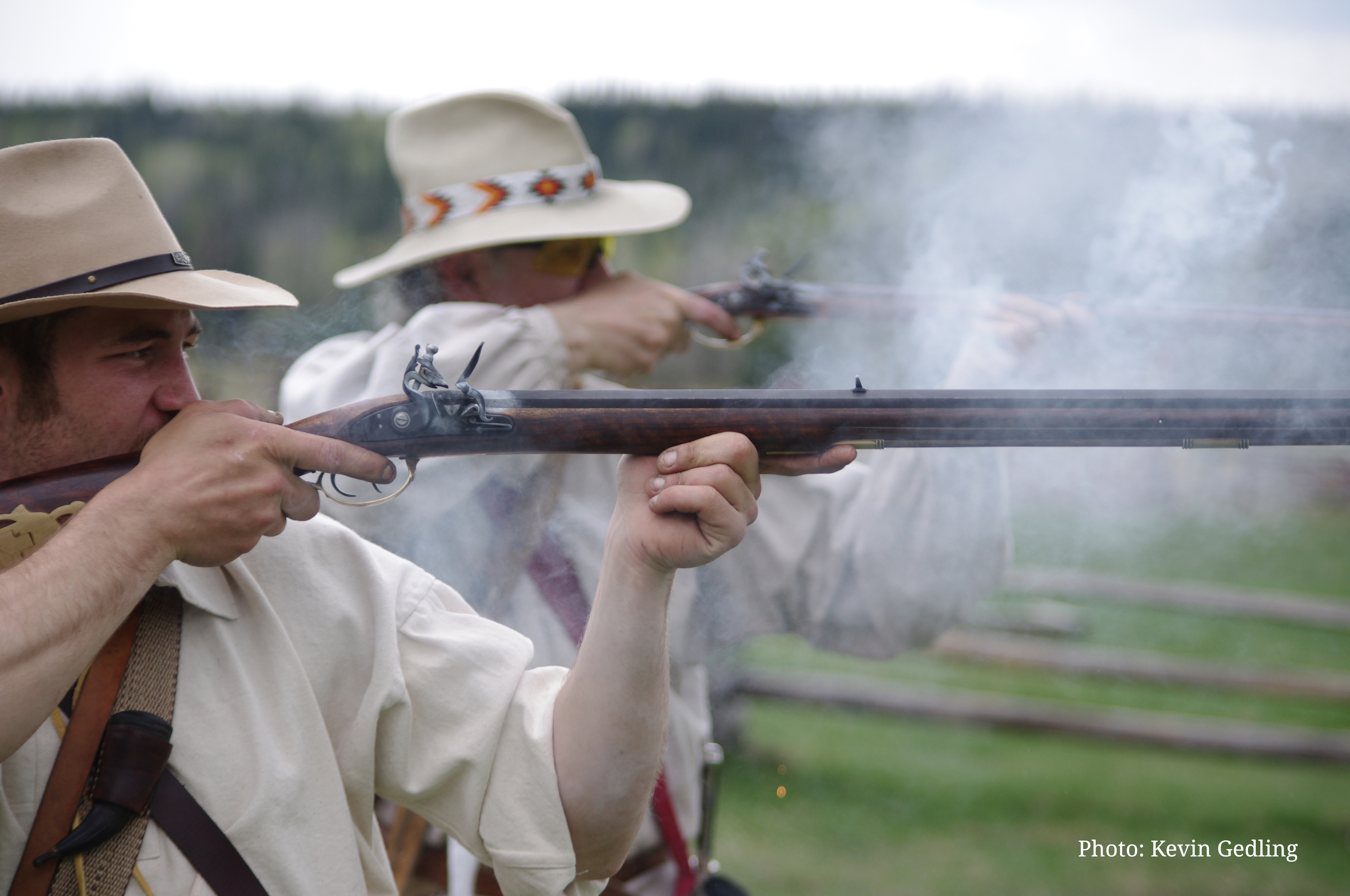Blackpowder shooting