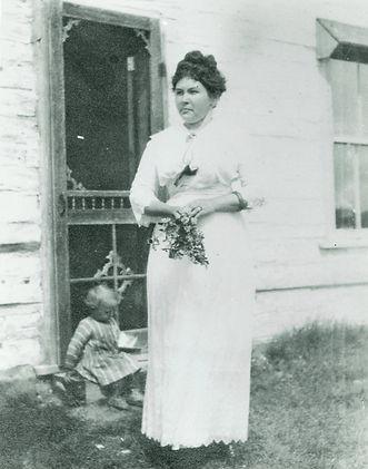 Annie Huble, circa. 1919.