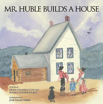 Cover of Mr. Huble Builds a House.