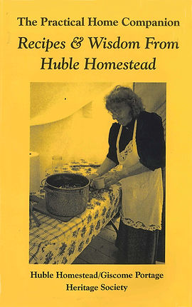 The Practical Home Companion: Recipes & Wisdom From Huble Homestead cover.