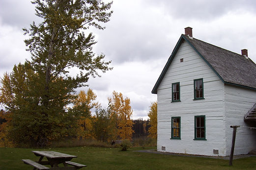 The historic Huble house in Prince George.