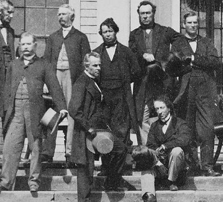 Charlottetown Conference in 1864.