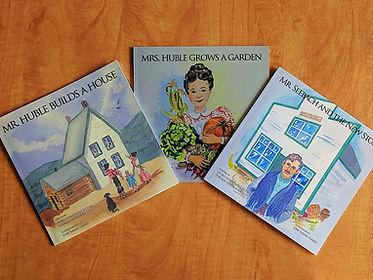 Huble children's book series.