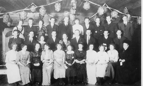 A ball heldJuly 1, 1916 at the Princess Theatre in South Fort George.
