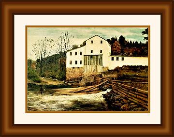 RA old mill18x24 frame-mat 14x20 print.j