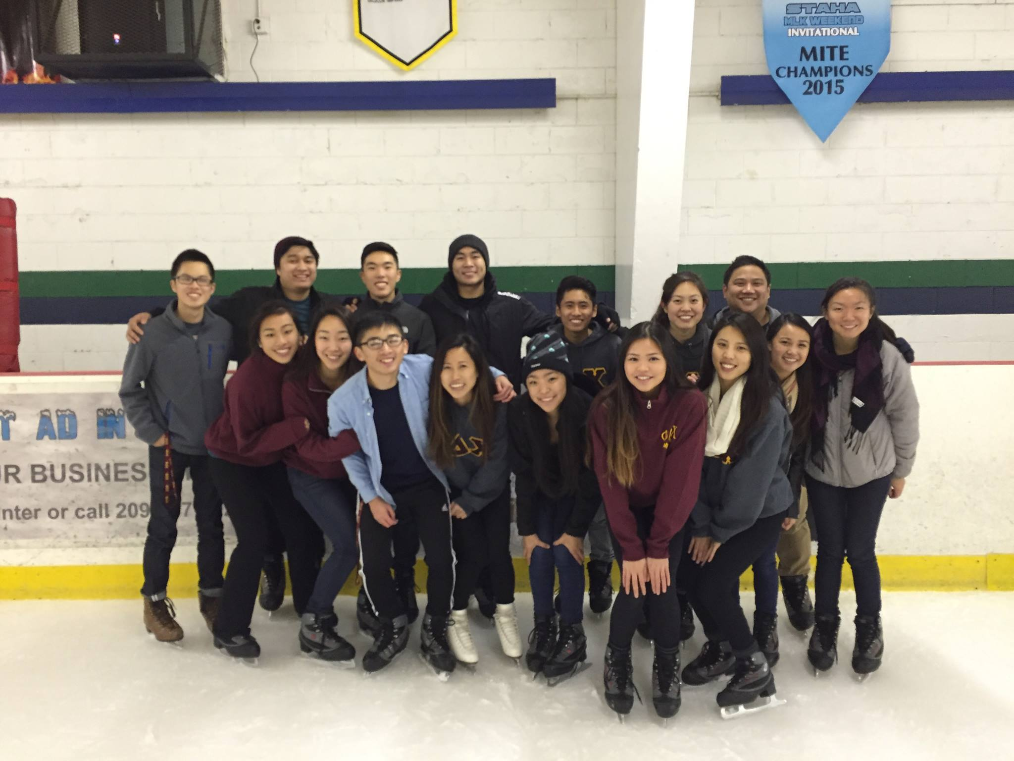 Ice Skating & Bonding