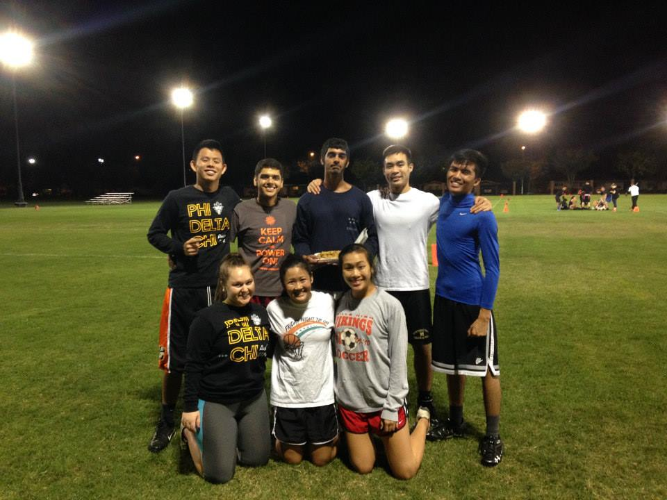 The 2014 Co-rec Flag Football Team