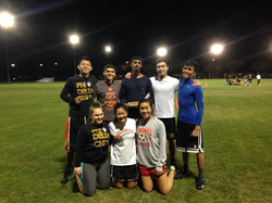 The 2014 Co-rec Flag Football Team