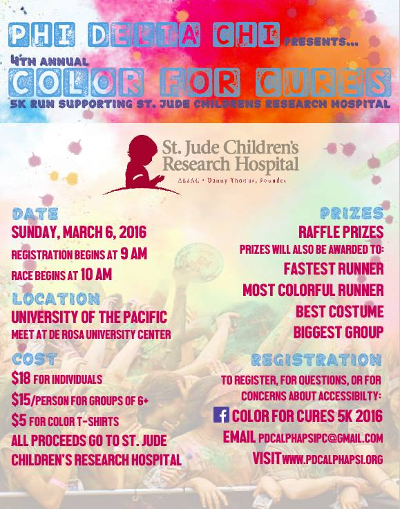 Color for Cures 5K!