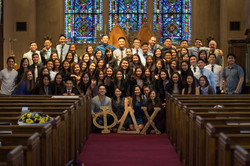 Welcoming our new Brothers