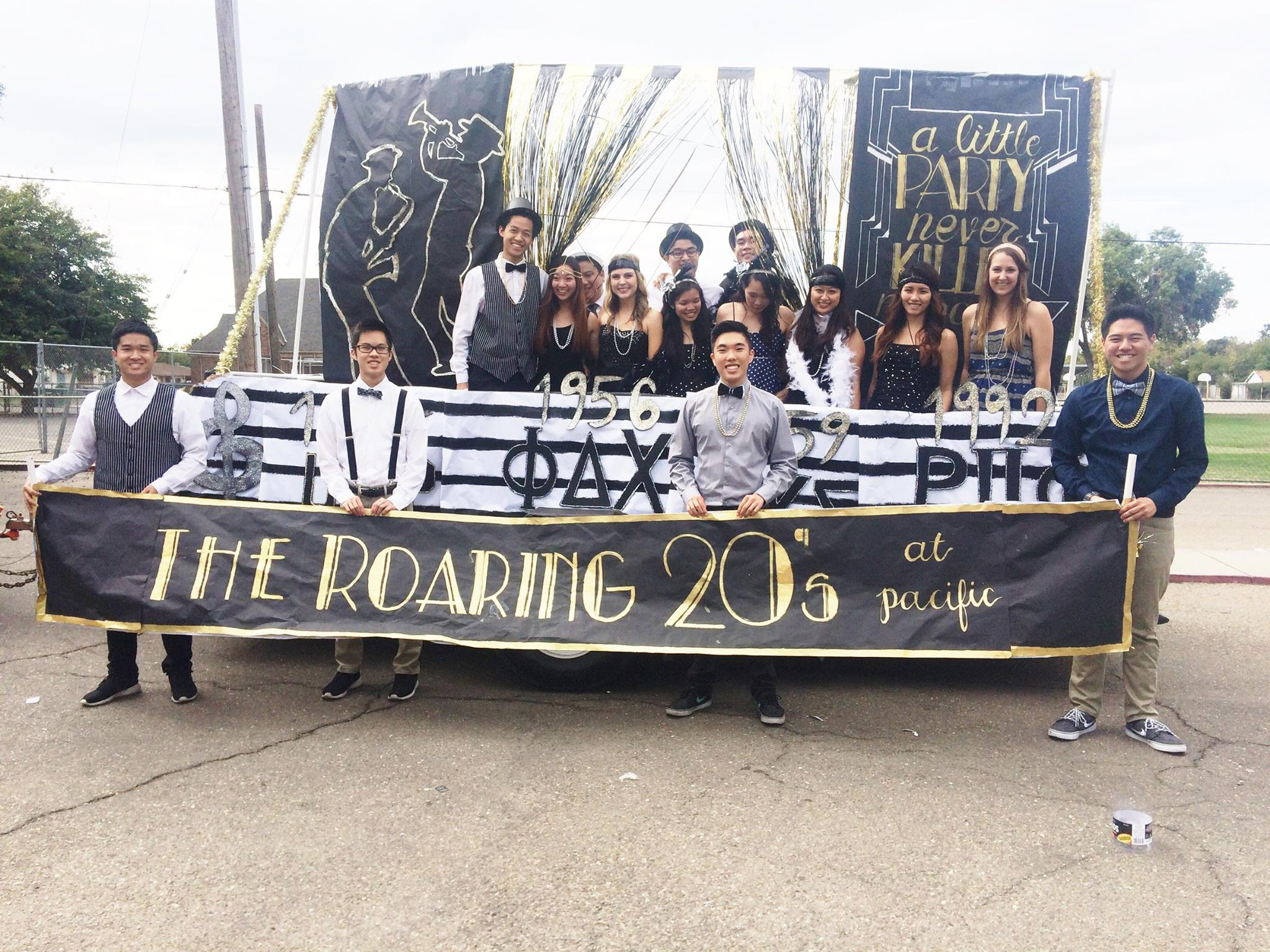 Pacific's Homecoming Parade!