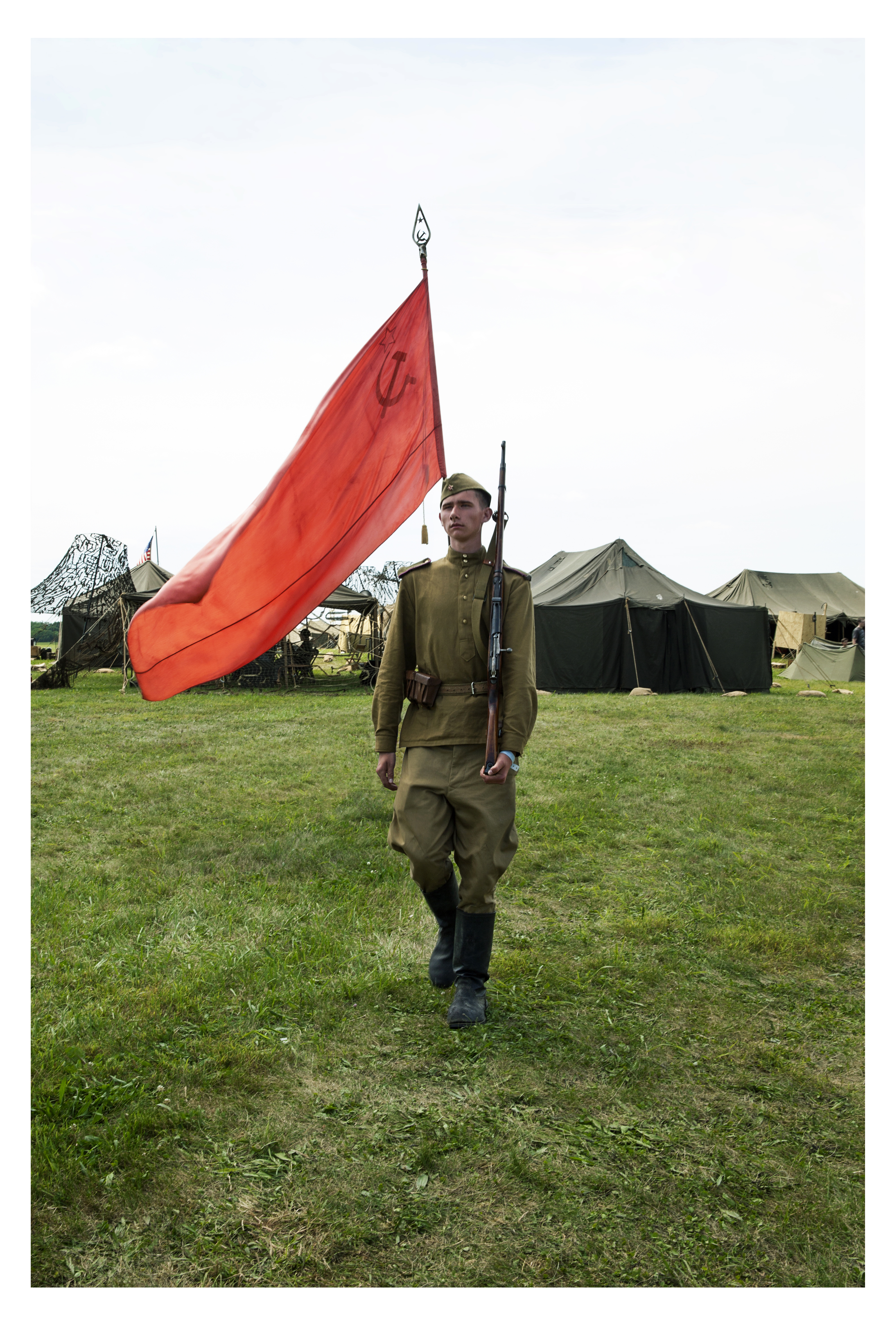 Soviet Red Marching