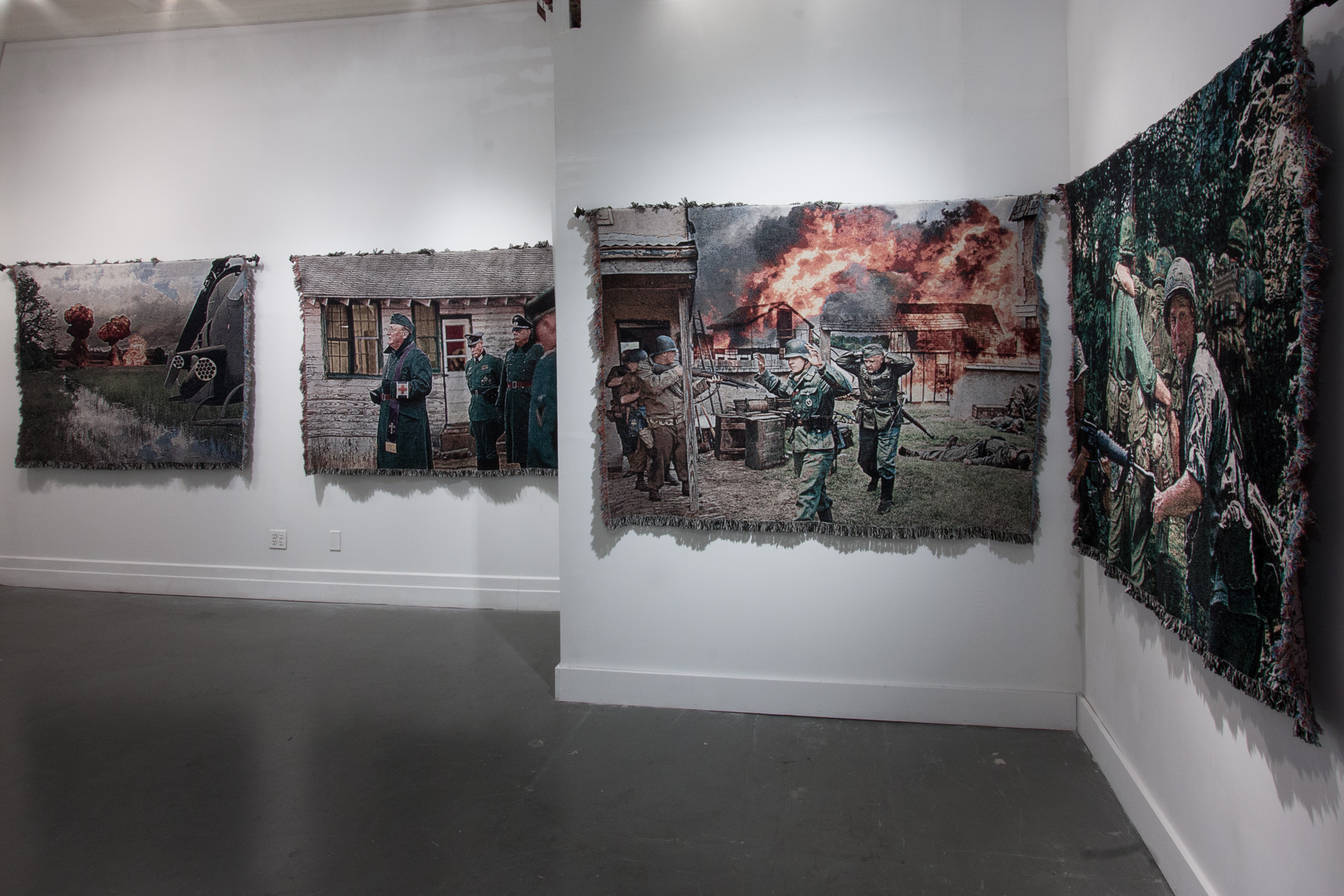 A War Imagined. {installation view}