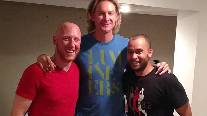 Hanging with Bronson Arroyo  | Mt. Carmel Amber Ale