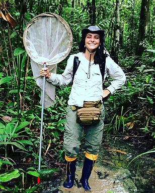 Isabela Freitas Oliveira, PhD candidate (INPA)