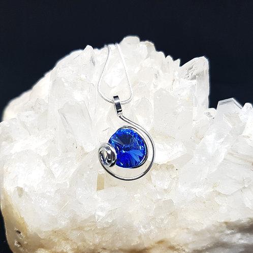 Sapphire Rivoli Pendant