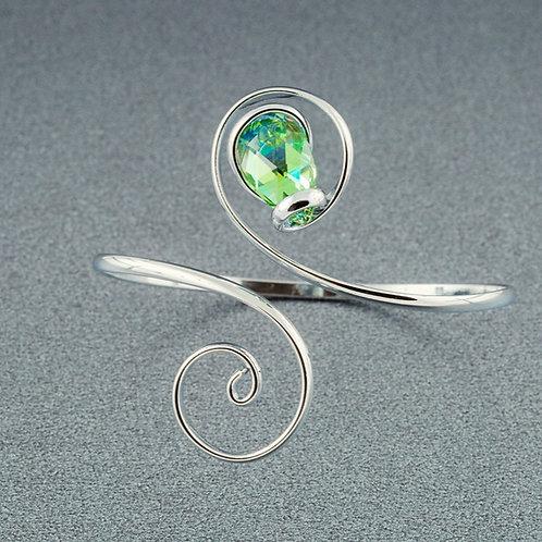 Peridot Teardrop Bracelet