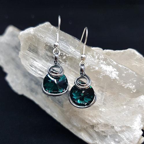 Emerald Rivoli Earrings