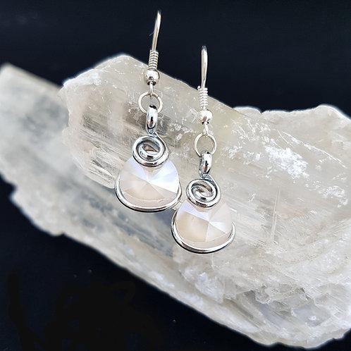 Moonstone Rivoli Earrings