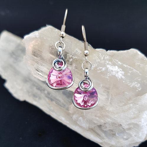 Rose Rivoli Earrings