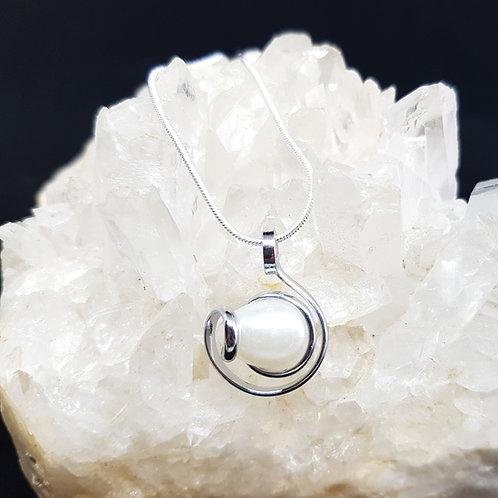 Pearl Crystal Pendants