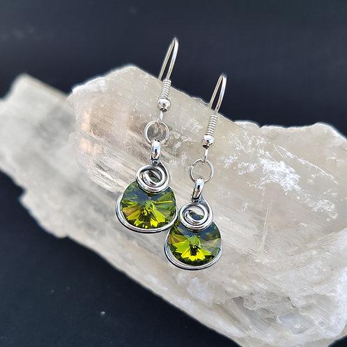 Olivine Rivoli Earrings