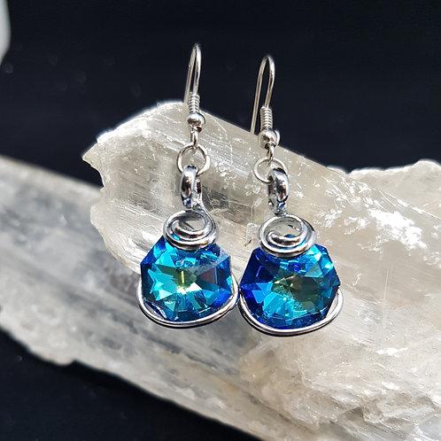 Bermuda Octogonal Earrings