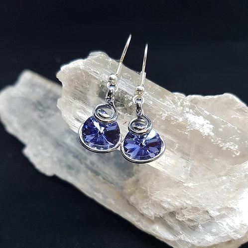 Tanzanite Rivoli Earrings