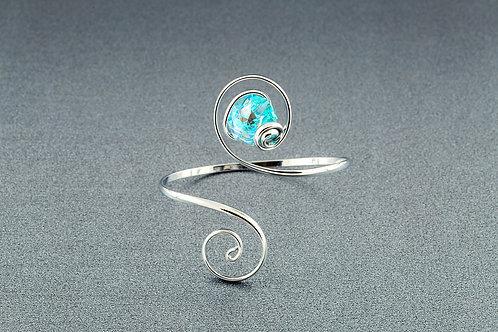 Blue Aurora Borealis Bracelet