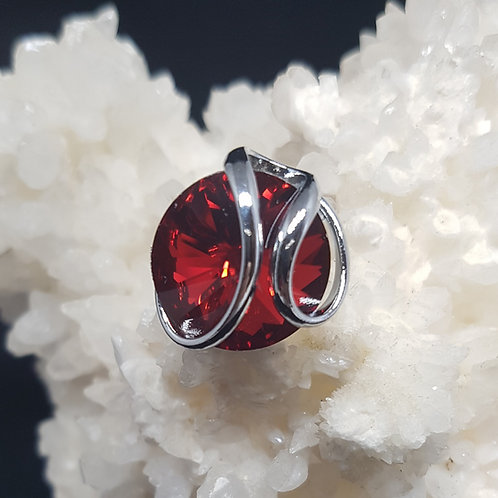 Scarlet Rivoli Ring
