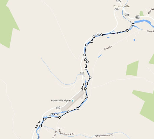 6k paddle route best dam 5k race