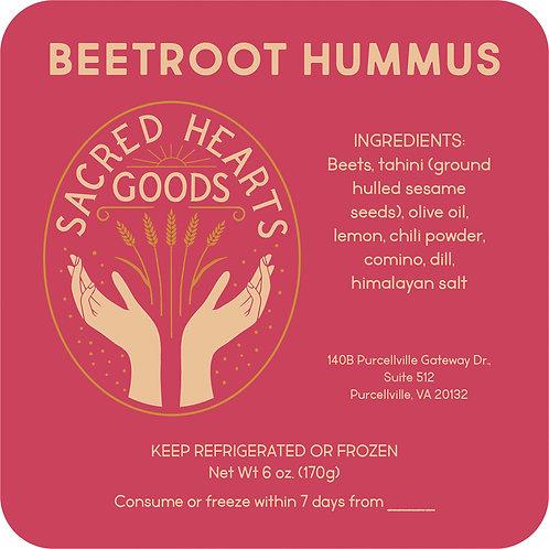 Beetroot Hummus Dip