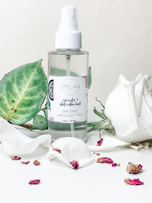 Rose Water & Willow Bark Facial Toner