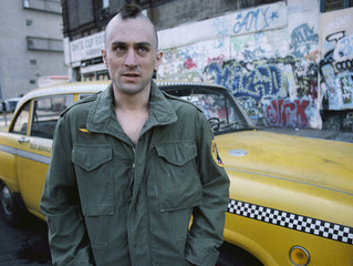 Checker Cabs in the movie Taxi Driver by Martin Scorsese