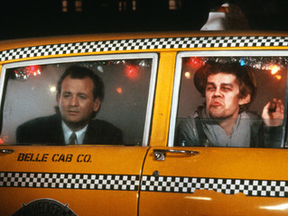 """Checker Cab featured in the movie """"Scrooged"""" with Bill Murray"""