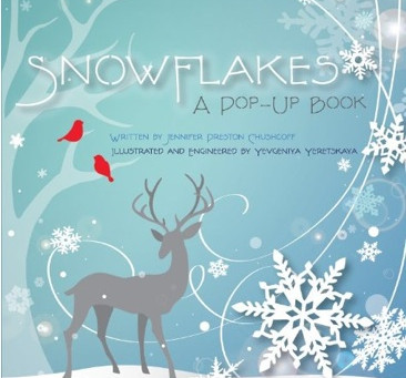 Clarke Historical Library Acquires Mass Collection of Pop Up Books, including Snowflakes