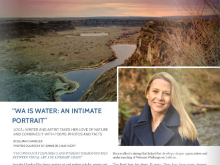 Interview by Living Local Magazine for WA IS WATER