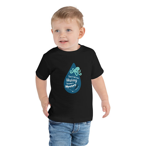 Don't Let Our History Become a Mystery - Gig Harbor Toddler Short Sleeve Tee