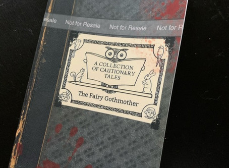 Amazon galley copy of The Fairy Gothmother: A Collection of Cautionary Tales