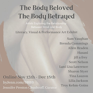 Artists Instagram  Body Beloved the body