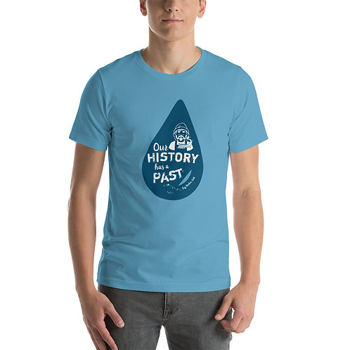 Our History Has a Past - FISHERMAN W/TENTACLE Short-Sleeve Unisex T-Shirt