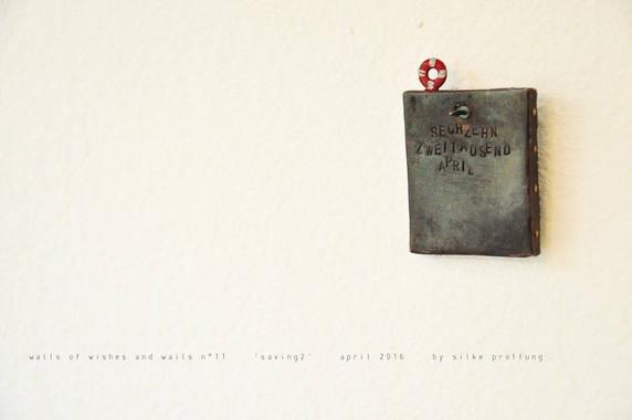 Klagemauer Nr. 11(Rückseite) - saving