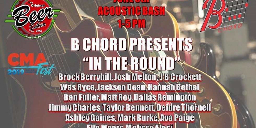 """B Chord Presents """"In The Round"""""""