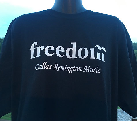 FREEDOM T-SHIRT BLACK
