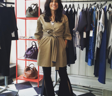 New York City Fashion Week Meet Designer Hilary Arthur