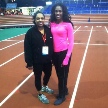 Olympian Kristi Castlin - Run Throw Jump
