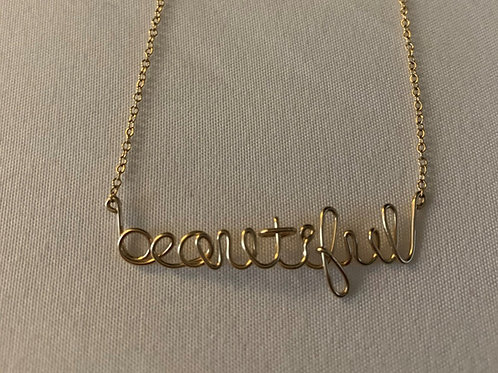 Beautiful Necklace by Dana Faith