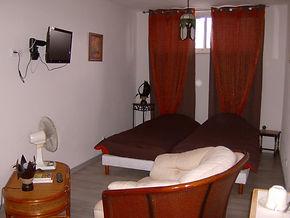 Chambre du château Arago