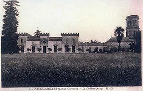 Chateau Arago dans les années 1900